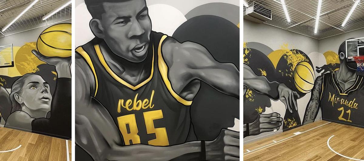 Rebel Sport Mural